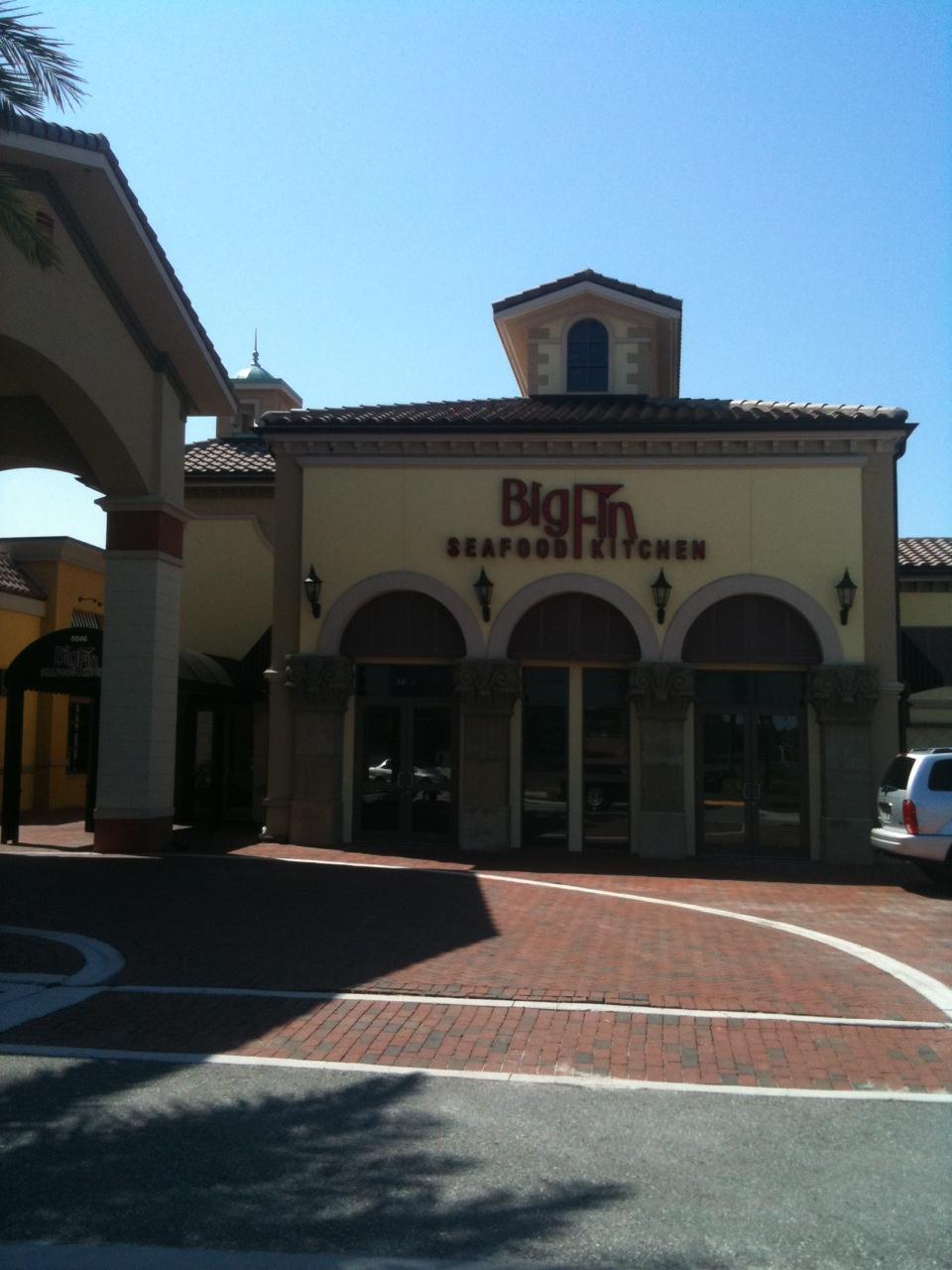 Big Fin Seafood Kitchen Orlando Seafood Restaurant